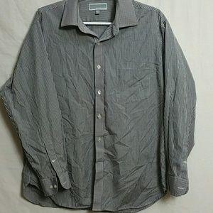Michael Kors Size 16.5 32-33 Button Down Shirt